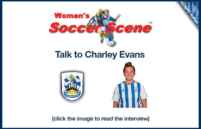 Women's Soccer Scene Talk to Charley Evans