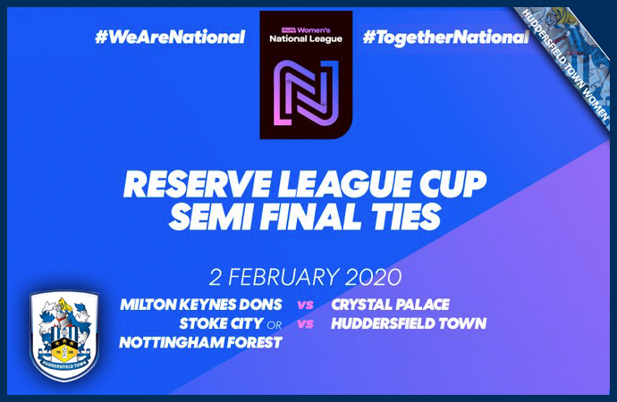 RESERVE LEAGUE CUP SEMI-FINAL DRAW.