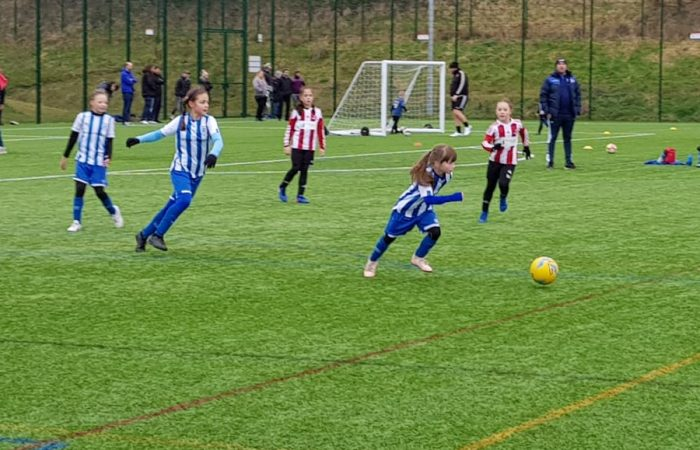HTWFC U10's vs Sheffield Utd