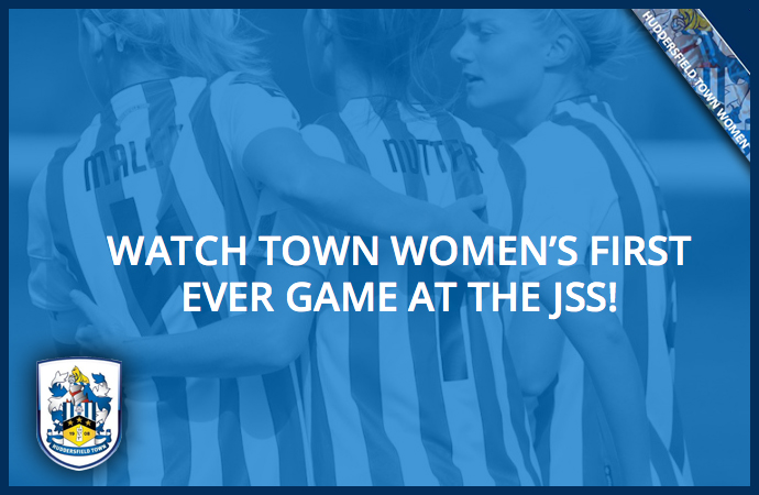 WATCH TOWN WOMEN'S FIRST EVER GAME AT THE JSS!