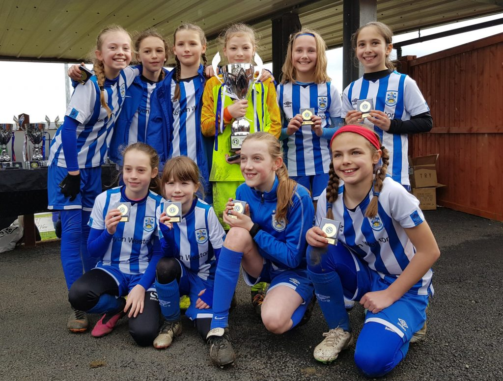 UNDER 10's LEAGUE CUP: U10's claim the 2019/20 Cup!