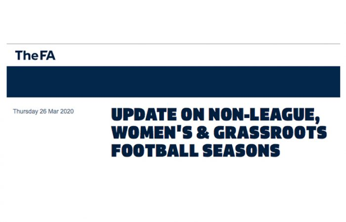 FA Non-League Football Update