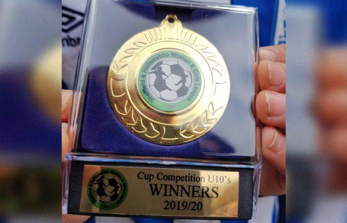 HTWFC Under 10's Cup Winners 2019-20