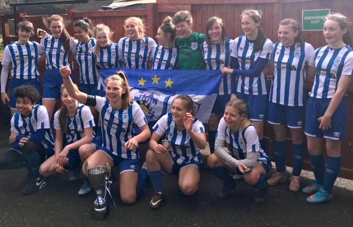 HTWFC U16's Cup Final Winners - 14-03-20