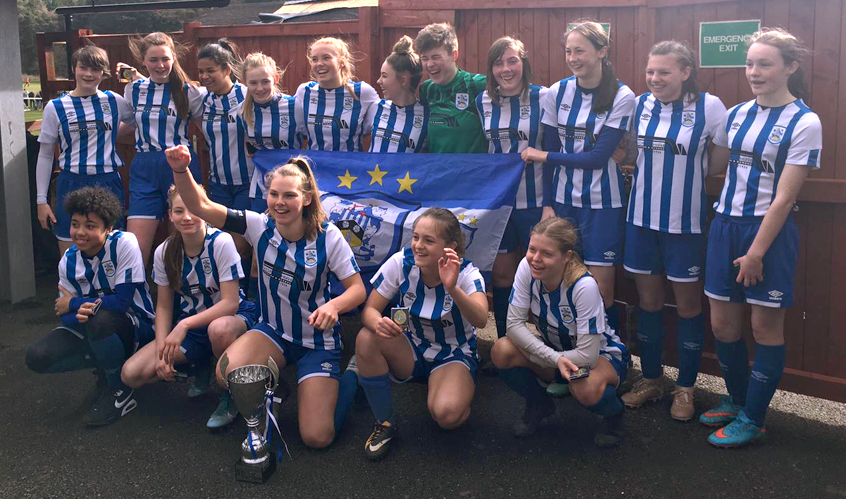 U16's CUP FINAL: Clinical finishing wins cup in style