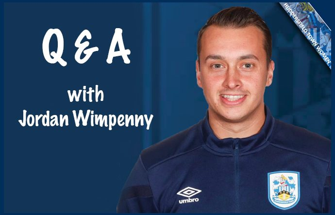 Q and A with Jordan Wimpenny
