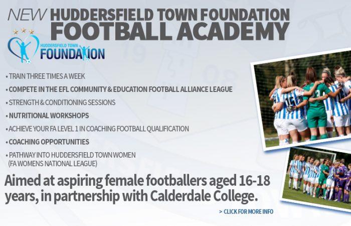 Town Foundation's New Football Academy