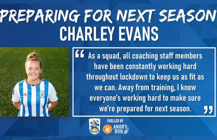 Preparing For Next Season - Charley Evans
