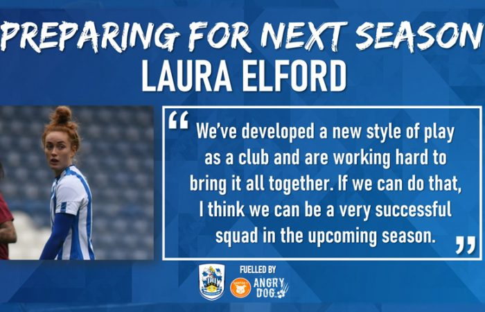 Preparing For Next Season - Laura Elford