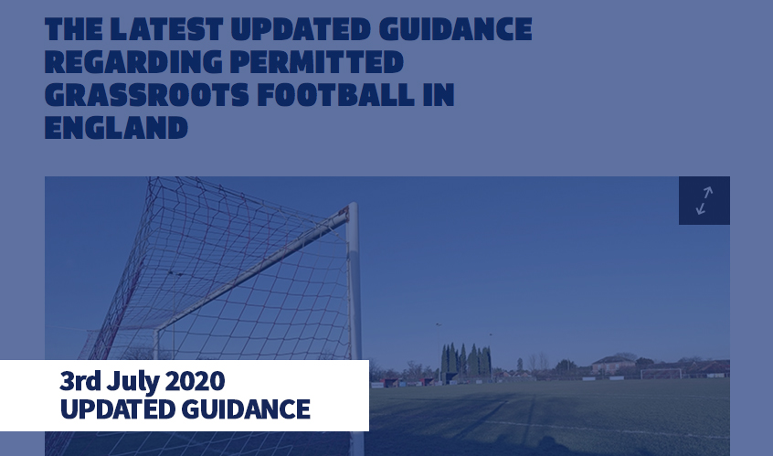 FA News - Latest Guidance - 03-07-20