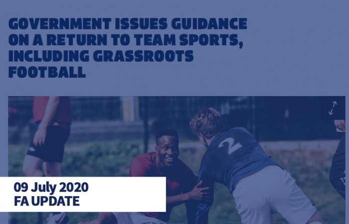 FA Grassroots Covid-19 Update