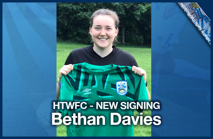 New Signing - Bethan Davies