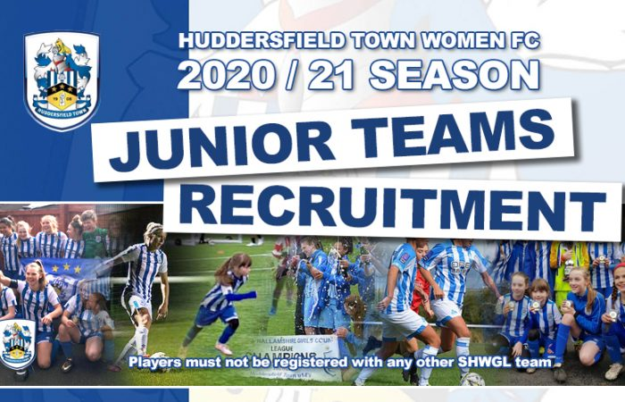 HTFC - Junior Teams Recruitment - 2020-21