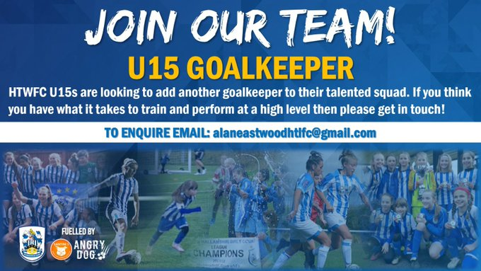 Join Our U15's Team