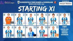 HTWFC vs Sunderland 04-10-20