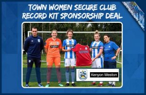 Kit Sponsor - Kenyon Weston