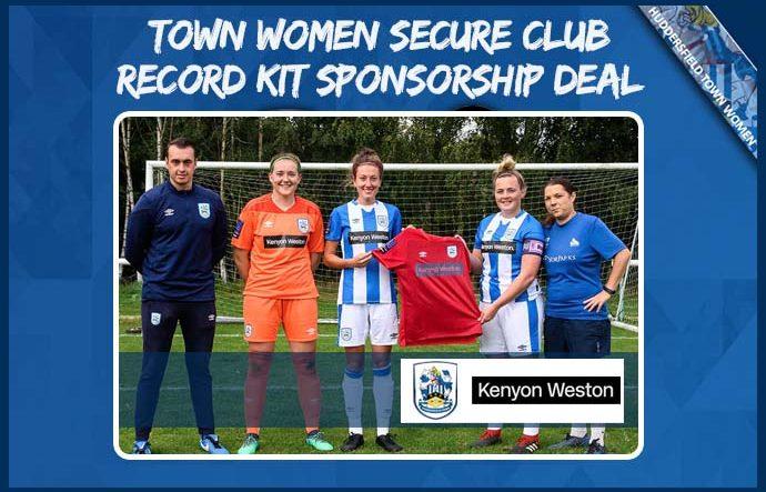 Kit Sponsor - Kenyon Weston