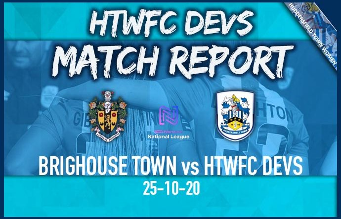 DEVS MATCH REPORT - Away to Brighouse - 25-10-20