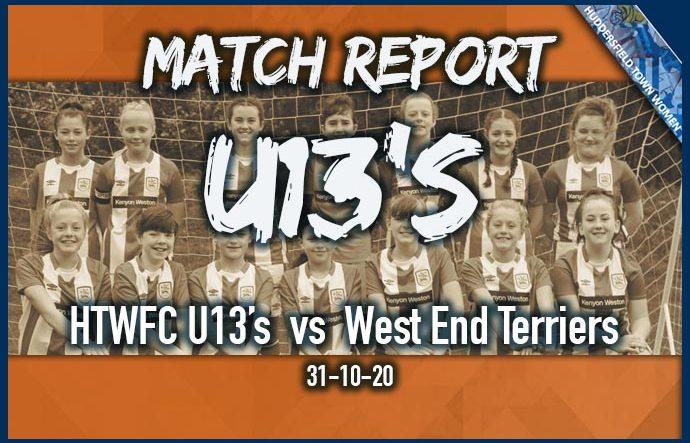 Match Report - U13s - 31-10-20