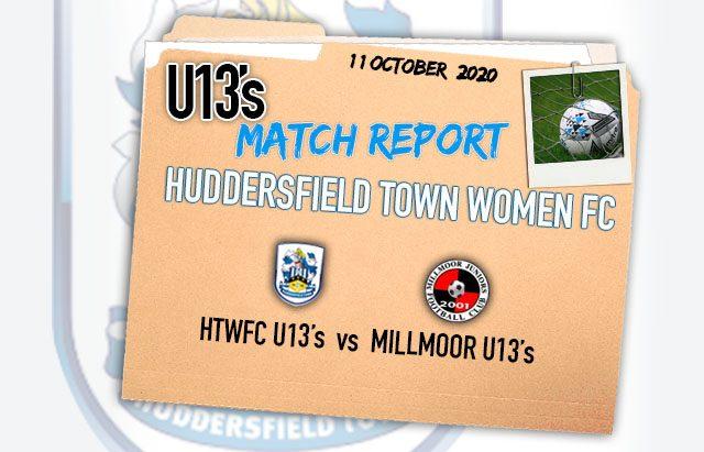 Match Report U13 - 10-10-20