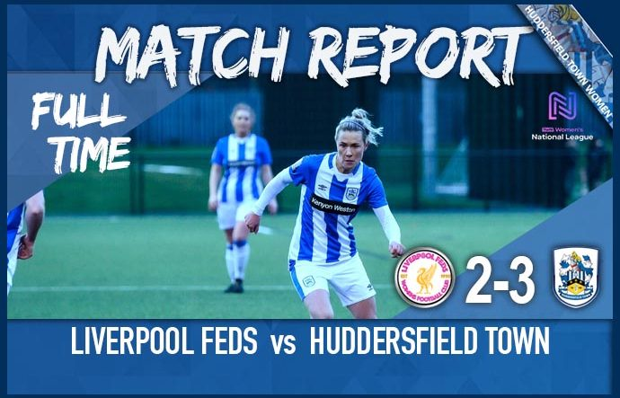 Match Report - FA CUP Second Round - Away to Liverpool Feds