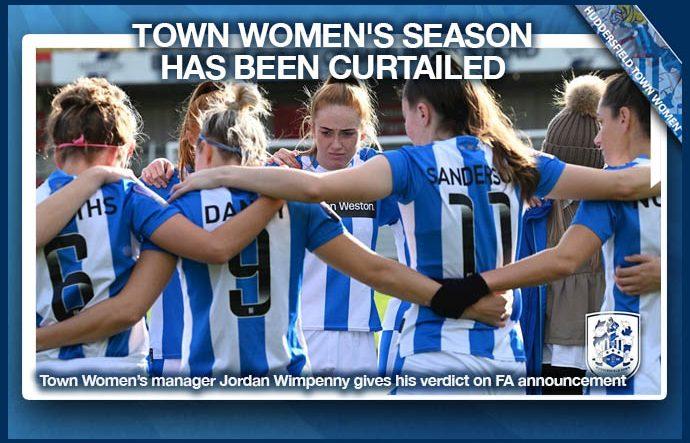 Town Women's Season Curtailed - 2021