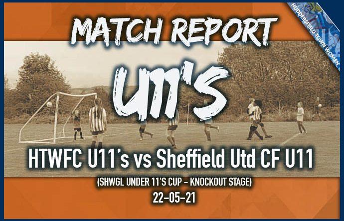 Match Report - U11s - 22-05-21
