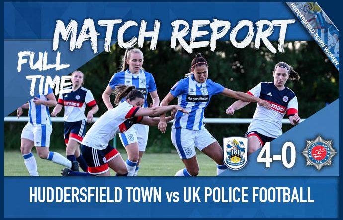 HTWFC vs UK Police Football