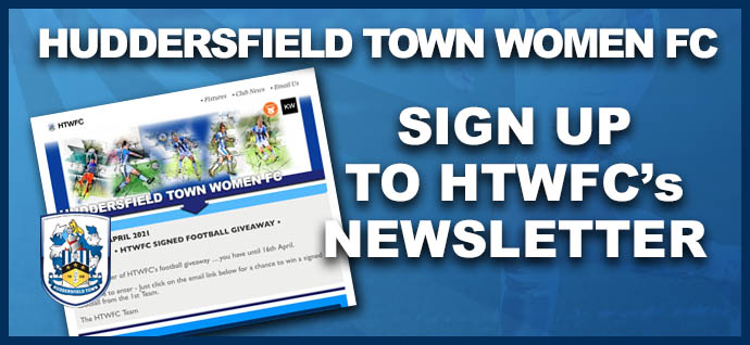 Sign Up To HTWFC Newsletter