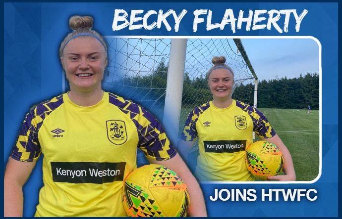 Goalkeeper Becky Flaherty joins HTWFC