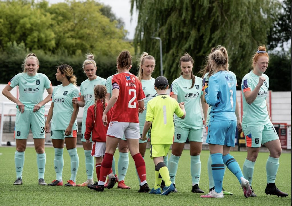 MATCH REPORT: Town Women Start the League Campaign with a Well-Earned Point