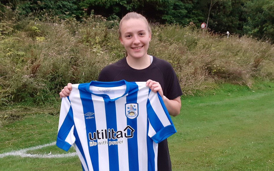 Ria Montgomery Signs For Huddersfield Town