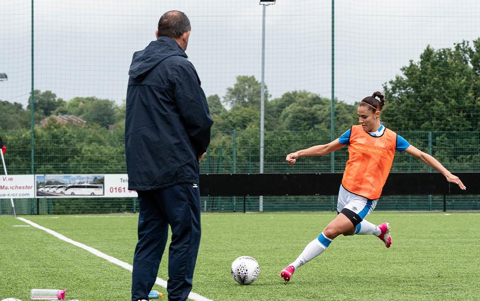 Paige Crossman Scores For Huddersfield
